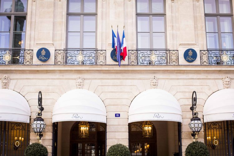Ritz hotel, Paris